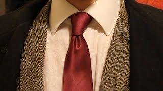 Как завязать галстук? Виндзор.