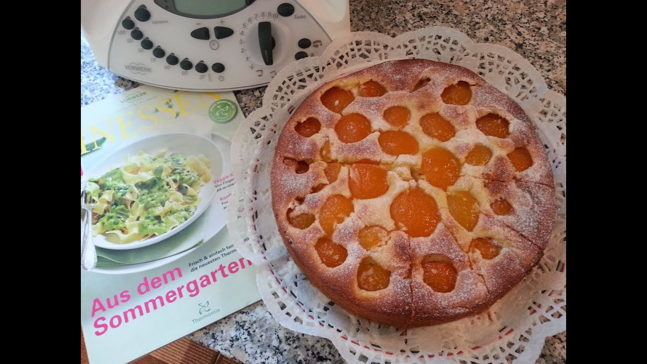 Thermomix Tm 31 Aprikosen Schmand Kuchen Youtube