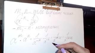 Урок з алгебри 8 клас