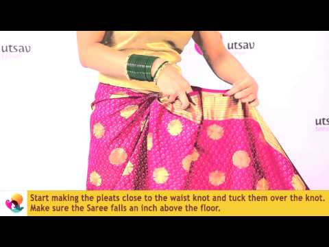 How to wear a Maharashtrian Saree in the DIY Way