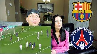 Barcelona vs PSG 6:1 2017 | Highlights Reaction!!