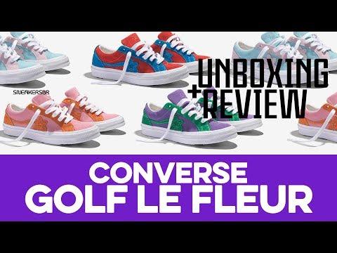 UNBOXING+REVIEW - Converse GOLF le FLEUR*