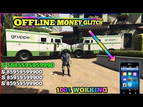 Gta 5 MONEY GLITCH OFFLINE ( MILLIONS IN FEW MINS)