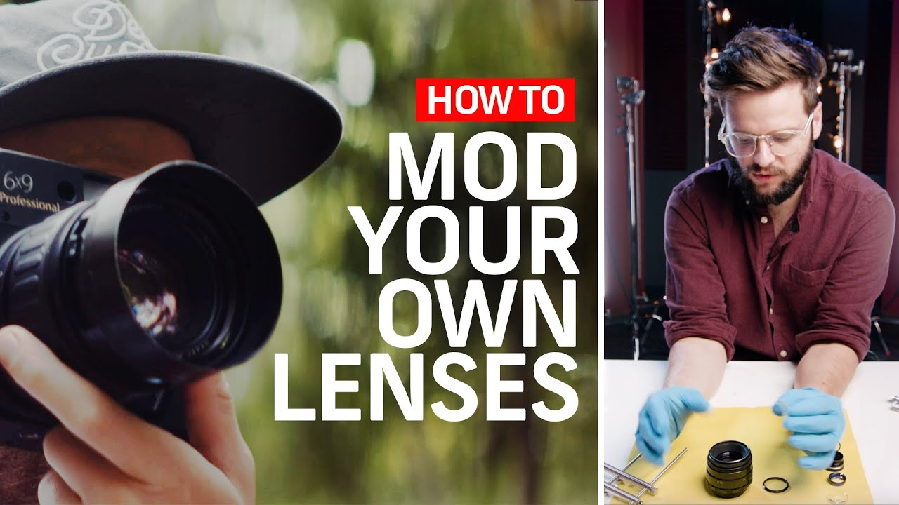 How to Pull Off the DIY 'Anamorfake' Lens Mod