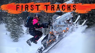 First Sled Tracks 2020 | Roscos BBA Vlog | #27