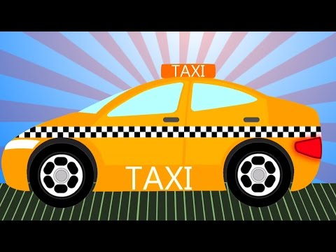Taxi | Formation et utilisations | Educational Video | Vehicle For Kids | Taxi Formation and Uses