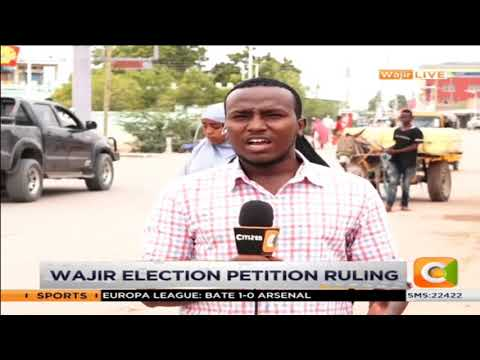 Wajir election petition ruling to be delivered by Supreme court