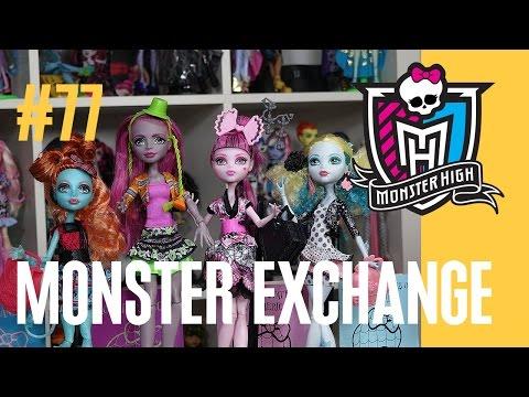 видео: Новые куклы Монстер Хай Лорна и Марисоль (monster exchange) Школа Монстров монстр monster high