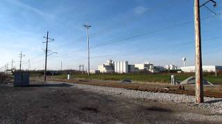 Full Speed NICTD Train - Great Doppler Effect