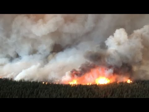 Wildfires rage in northern B.C.