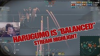Highlight: Harugumo is balanced (World of Warships)