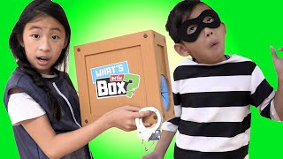 Pretend Play Police Helps Find The Treasure Chest What's in the Box
