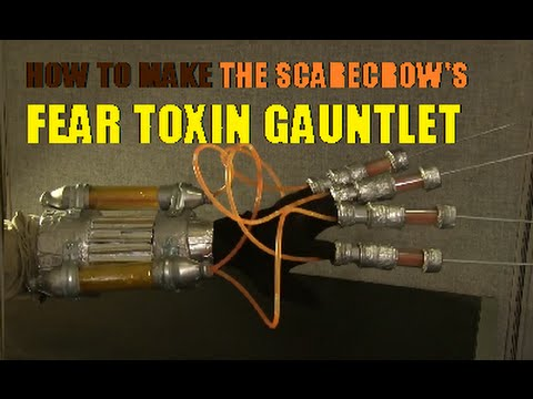 how to make scarecrows fear toxin glove arkham asylum