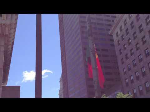 Portuguese Flag Raising Ceremony 2013 in Boston
