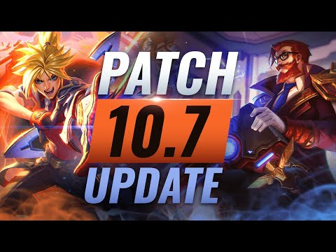 NEW UPDATE: BEST Champions TIER List – League of Legends Patch 10.7