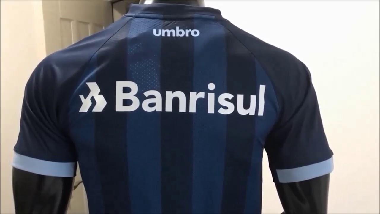 508f18f7e2eca Camisa Grêmio Uniforme 3 2017 Lançamento - YouTube