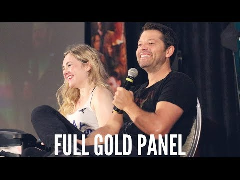 Supernatural Indy Gold Panel With Misha Collins and Rachel Miner  Giving Back Tour