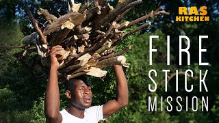Firestick Mission...how to carry 100 lb of wood on your head!