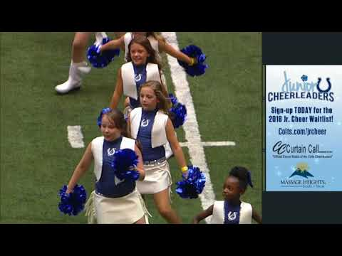 Colts Cheerleaders Halftime Performance 8/13/17