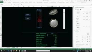 Objetos 3D con movimiento en EXCEL