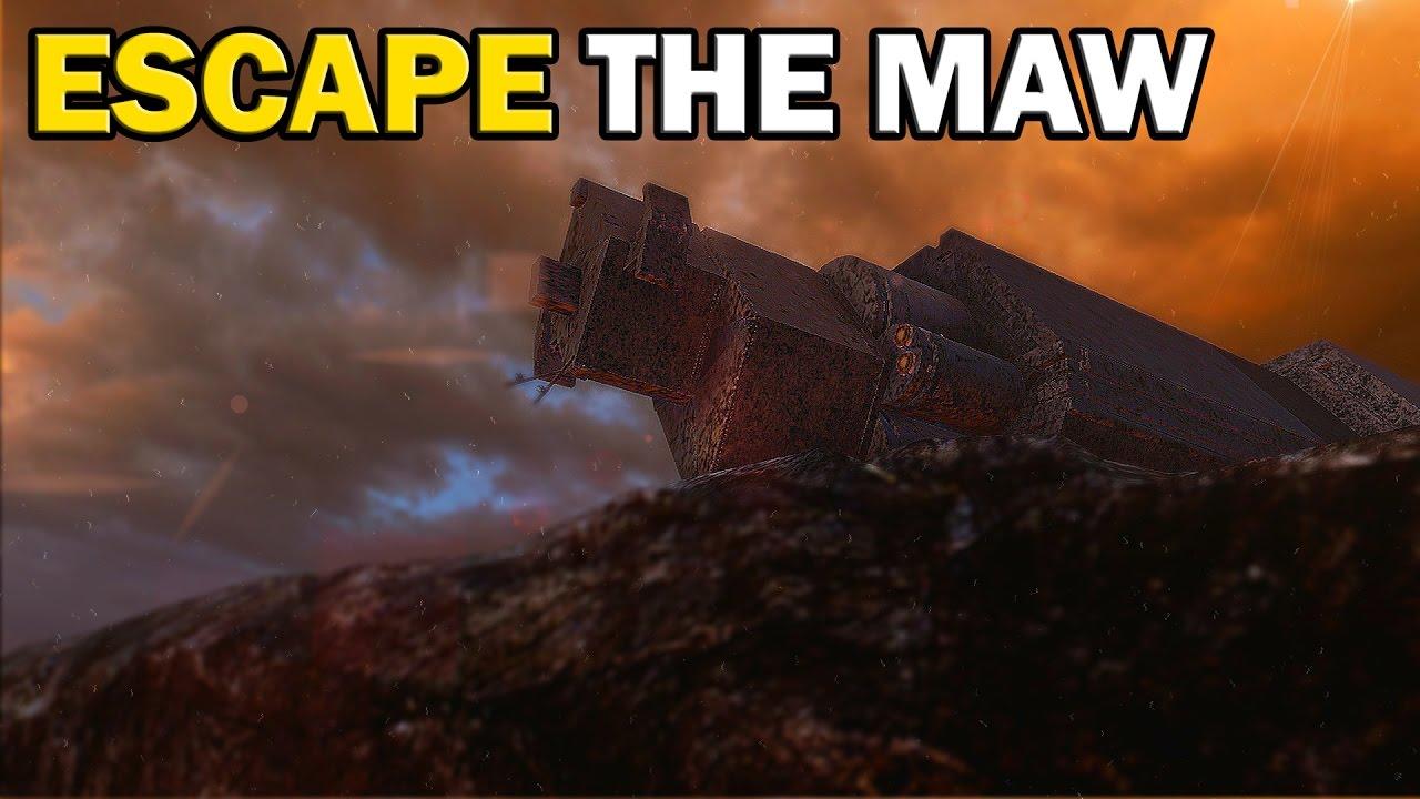 The Maw (Warthog Run) | Halo 5 Forge Maps