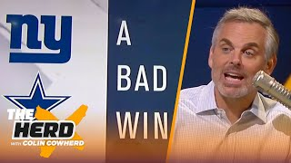 Colin Cowherd plays the 3-Word Game after NFL Week 5 | THE HERD