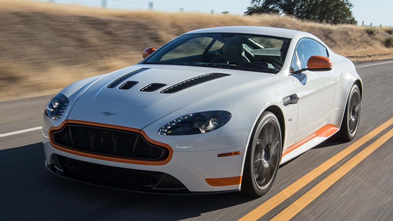 Aston Martin V Vantage S Hot Lap Best Drivers Car - Aston martin vantage v12