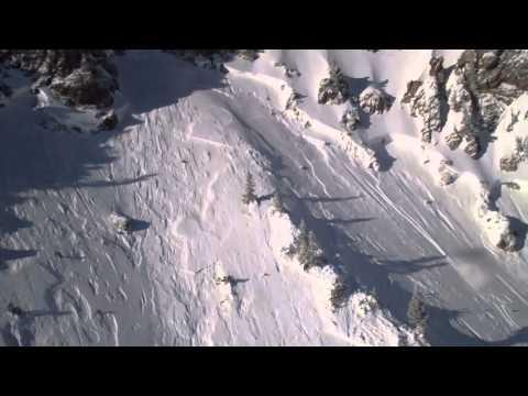 Helicopter Avalanche Control Snowbird Utah