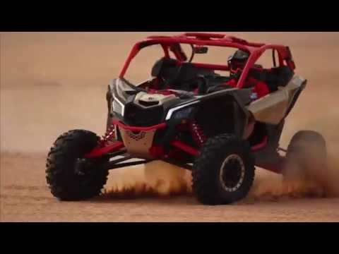 DEFIANT-- Can-Am Maverick X3 in the UAE!
