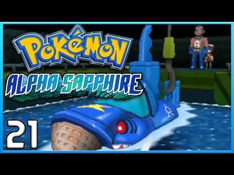 Pokemon Alpha Sapphire Part 21 - Team Aqua Hideout ORAS Gameplay Walkthrough