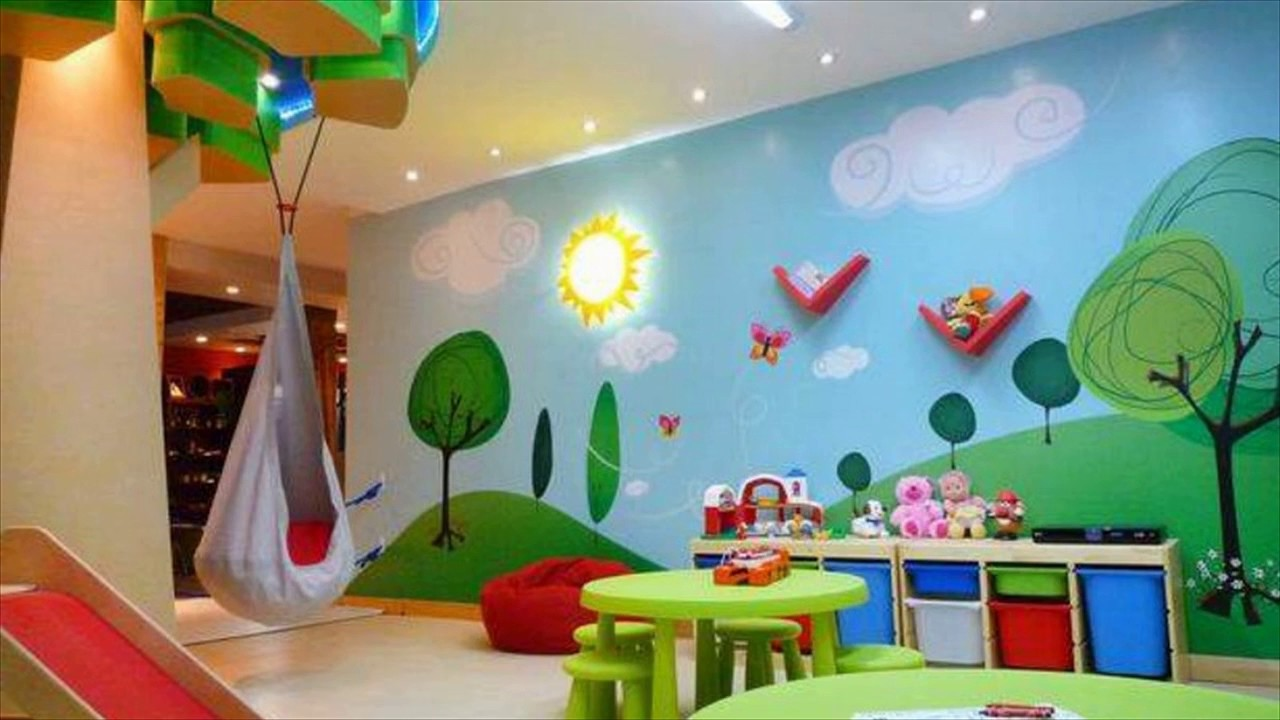Attractive Playing Room For Kids