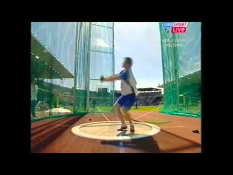 Hammer Throw Qualifying IAAF World Championships Helsinki 2005