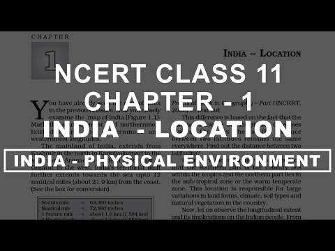 India | Location - Chapter 1 Geography NCERT class 11