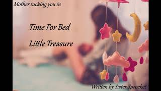 ASMR Mother Roleplay - Time For Bed Little Treasure [Bedtime][Tucking In]