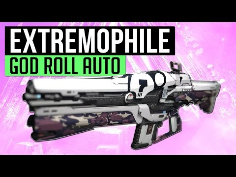 Destiny   EXTREMOPHILE 011! - Beastly Vendor Roll Auto Rifle 18 - 24 April (Pick of The Week)
