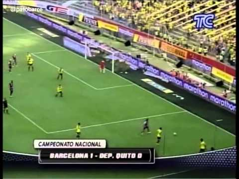 Barcelona 1 Quito 0. Resumen TC Deportes 27 Nov. 2011
