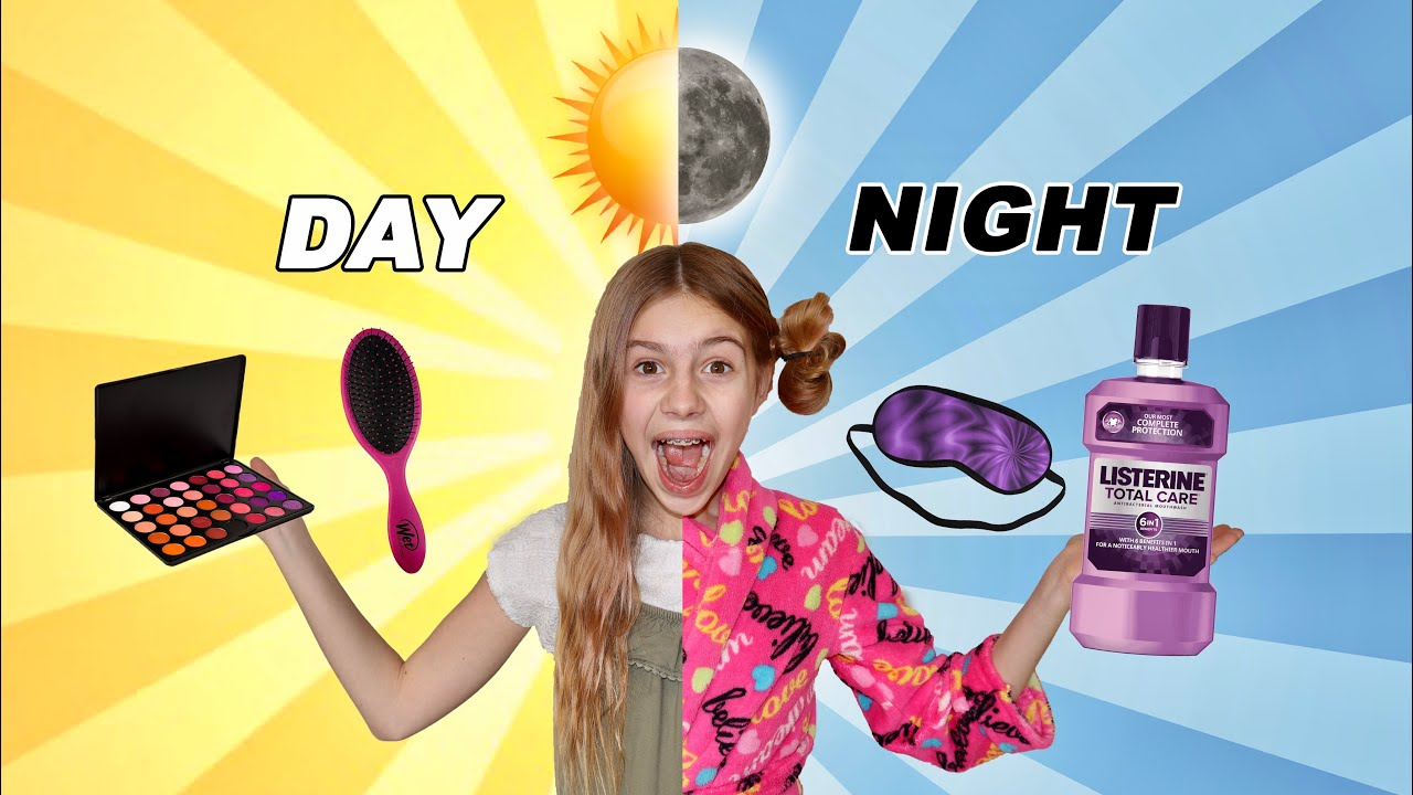 Night Time and Morning Routine With Savannah Banana!