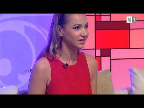 """Mihail Agafita si Rusanda Panfili la """"Cine vine la noi"""" M1."""