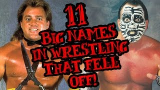 11 BIG Names in Wrestling That Fell Off (Due To Gimmick Change)