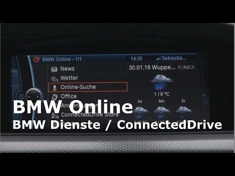 bmw online dienste connecteddrive cic men berblick e90. Black Bedroom Furniture Sets. Home Design Ideas