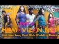 Hot item Song Desi Girls Wedding Dance part 2