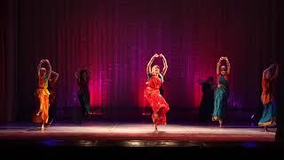 Школа индийского танца Амрапали. Танец bangla folk. рук. Лонская Дарья