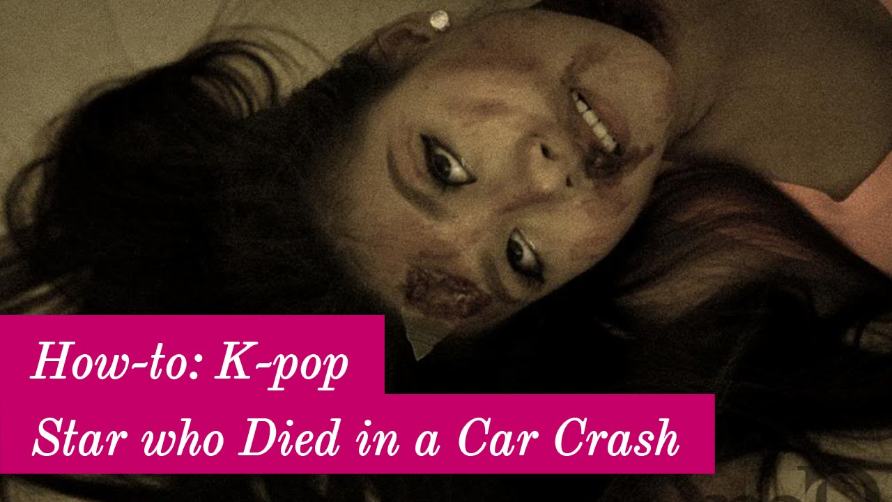 How To K Pop Star Who Died In A Car Crash Youtube