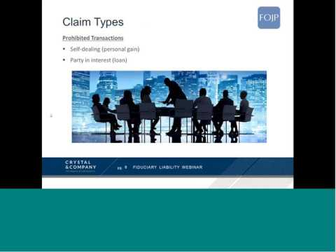 Fiduciary Webinar   Hosted by FOJP November 10 2015