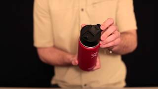 HYDRO FLASK Wide-Mouth Water Bottle with Hydro Flip Lid 18 oz.