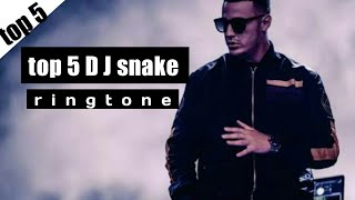 DJ snake top ringtone|| DJ snake ringtone download link