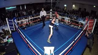 Ultra White Collar Boxing | Blackburn | Ben O'Hara  VS Jack Whitfield