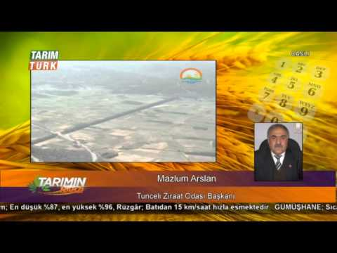 """Tarımın Nabzı - """"Kuraklık ve Sulama"""" - 25.02.2014 - Mazlum Arslan"""