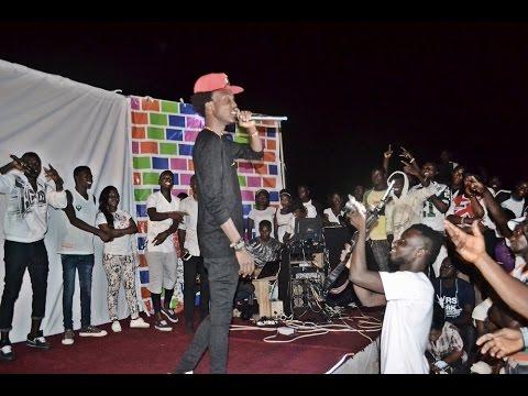 Opanka Performs at Ajumako Campus of UEW