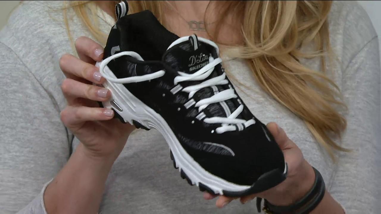 Skechers D'Lites Lace-up Sneakers - Me